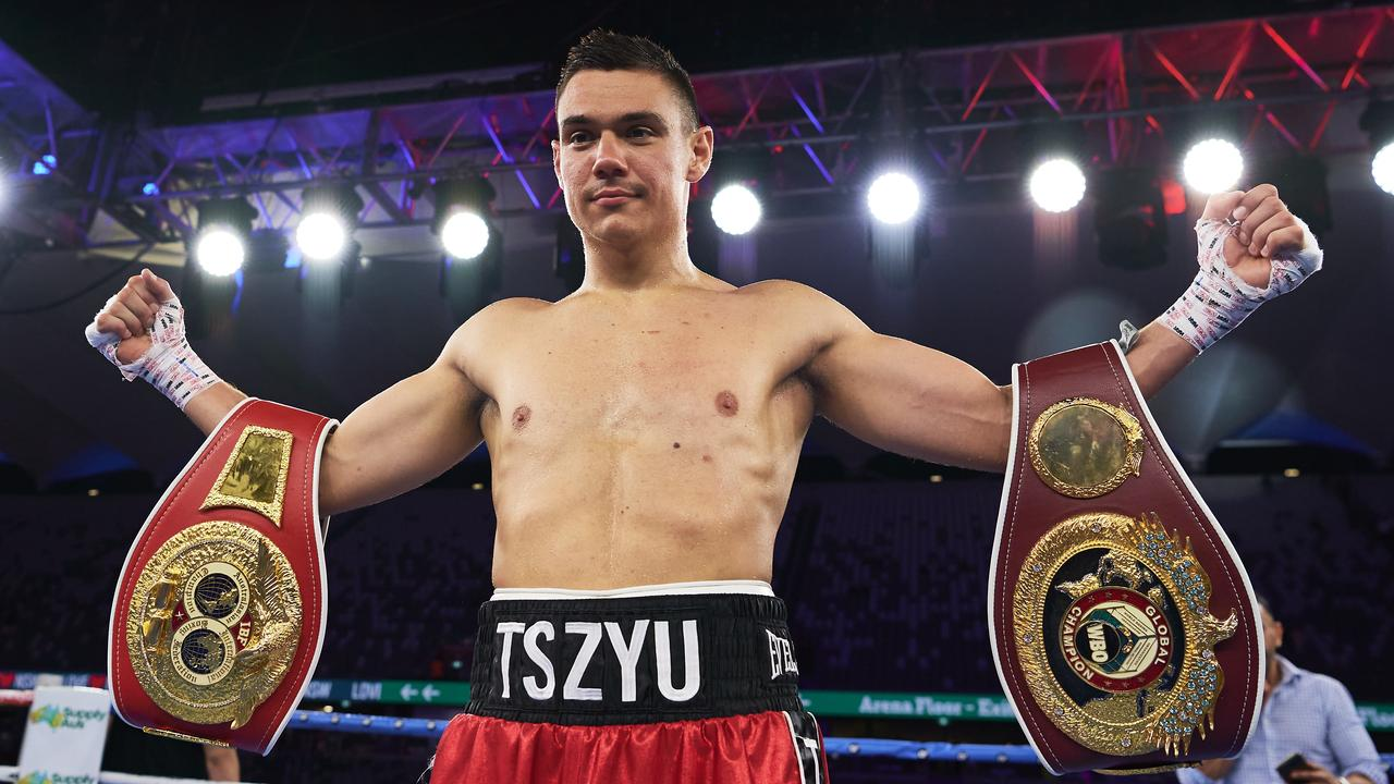 Tim Tszyu after his victory over Bowyn Morgan.
