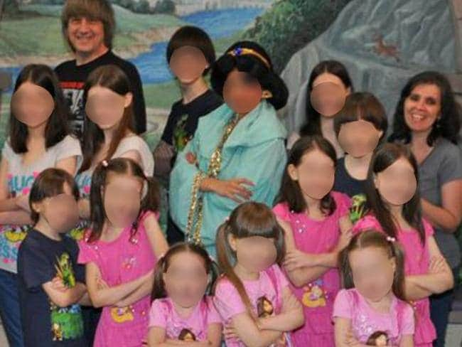 The 13 children were found imprisoned and emaciated in their California home.