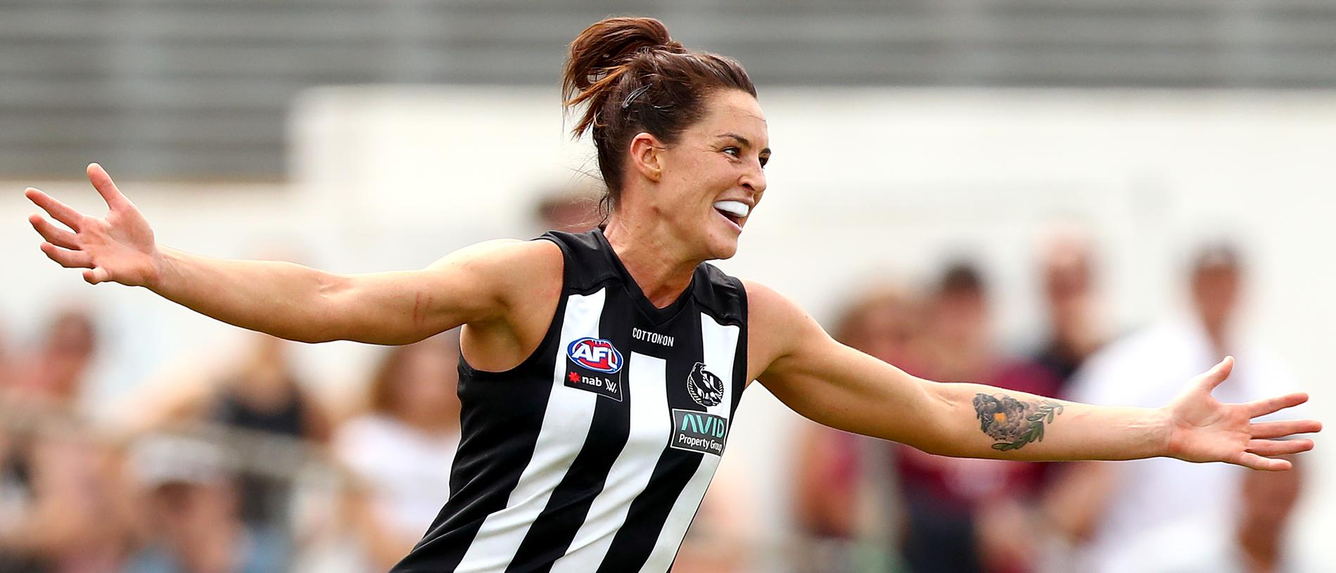 AFLW Rd 1 - Collingwood v West Coast