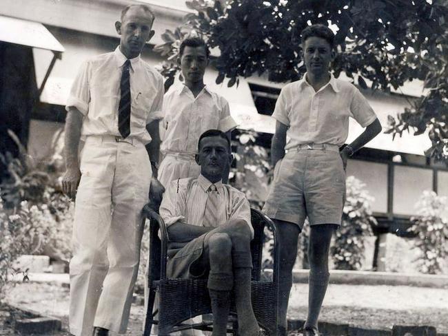 Nauru five murder WW2: Japanese soldier returned cufflinks