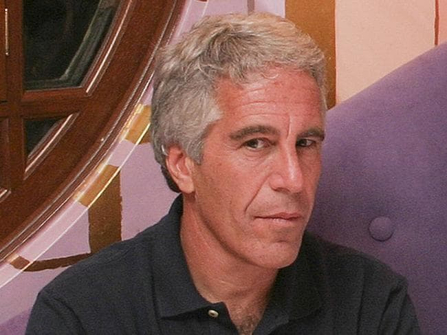 Convicted paedophile Jeffrey Epstein (pictured in 2004) has been connected with several prominent people including politicians, actors and academics. Picture: Rick Friedman/Corbis via Getty Images