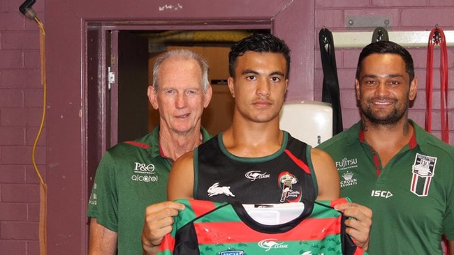 Joe Suaalii is one of the most promising young sportsmen in Australia.