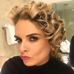 "Erin Molan ... ""Trying something a little different this year... #logies #redcarpetready @hairbykatejean @mellicosmetics"" Picture: Instagram"