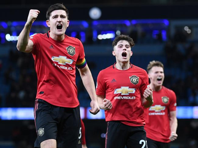 The victory was Manchester United's sixth of the season.
