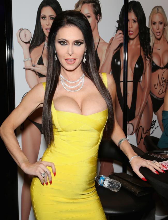 Jessica Jaymes at the 2018 AVN Adult Expo at the Hard Rock Hotel & Casino on January 25, 2018 in Las Vegas, Nevada. Picture: Gabe Ginsberg/FilmMagic