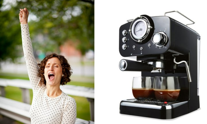 Kmart's $89 espresso machine has a lot of people freaking out