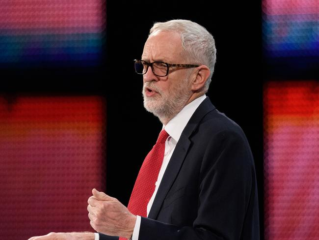 Labour Party Leader Jeremy Corbyn speaks during the 2018 CBI Conference on November 19, 2018 in London, England. Picture: Leon Neal/Getty Images