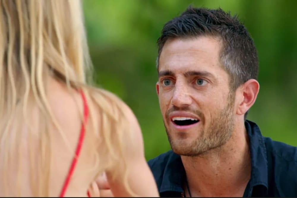Mack on Bachelor in Paradise 2018. Image credit: Channel 10