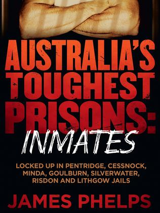 James Phelps' new book on prison inmates reveals the special wall built in Goulburn prison to protect inmate Hughes. Picture: Ebury Press