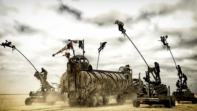 Zack Snyder says Mad Max: Fury Road is the best film of the year.