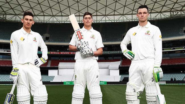 Nic Maddinson, Matt Renshaw and Peter Handscomb all debuted at Adelaide last year.