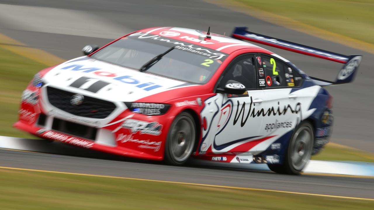 The #2 was quickest on Sunday morning at Sandown. Picture: Mike Owen