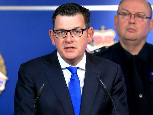 Victorian Premier Daniel Andrews has defended the decision to release Khayre on parole. Picture: Mark Stewart