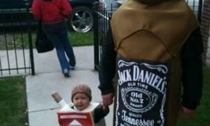 Wildly inappropriate kids' Halloween costumes
