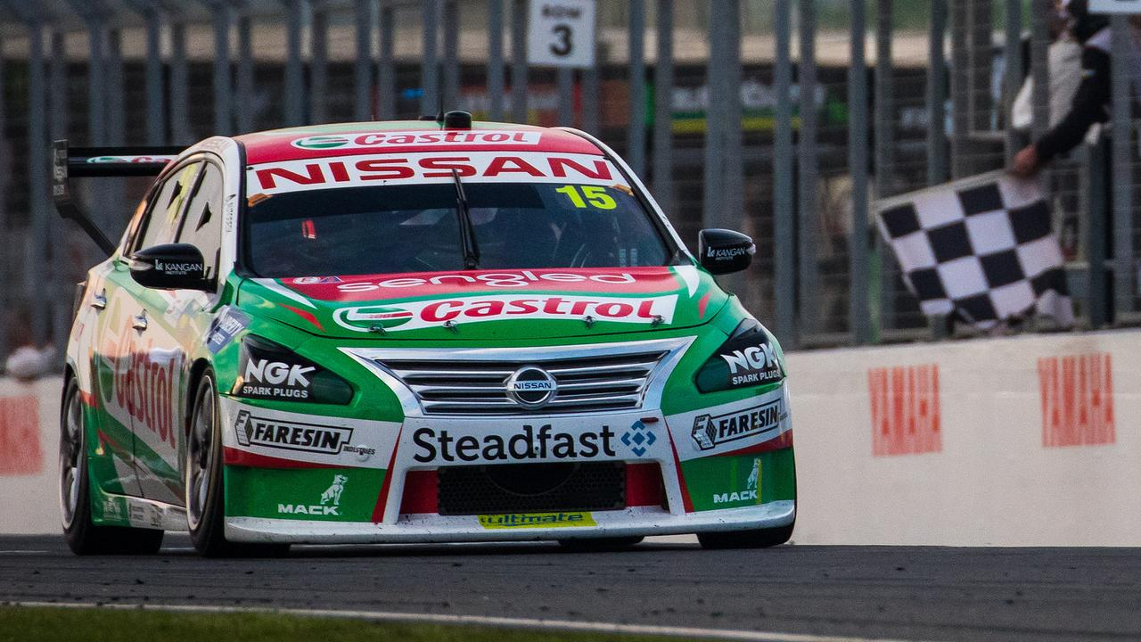 Nissan will end its factory support of Supercars at the end of 2018. Pic: Nissan Motorsport.