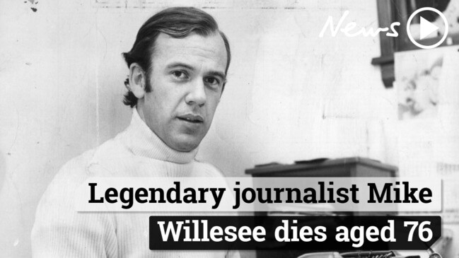 Legendary journalist Mike Willesee dies aged 76