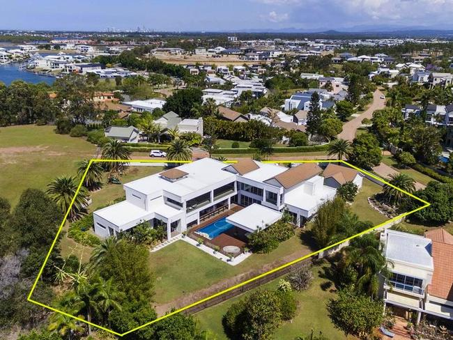 This huge Hope Island home has proved popular with many A-listers.
