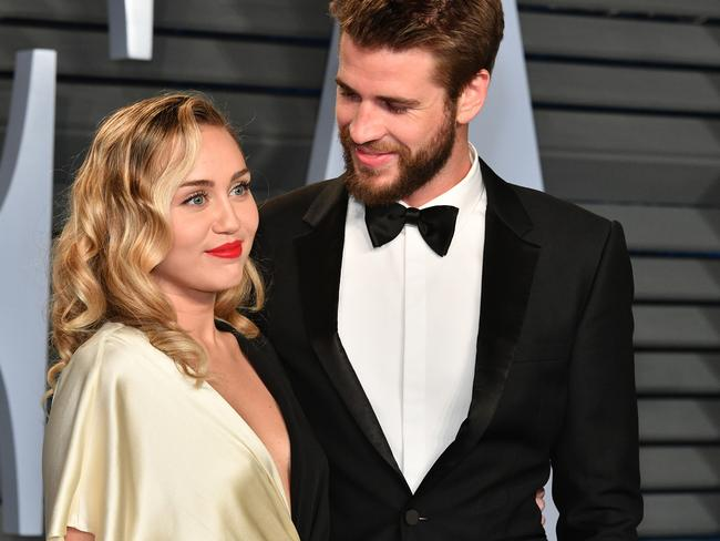 Miley Cyrus and Liam Hemsworth are separating after less than a year of marriage. Picture: Getty Images
