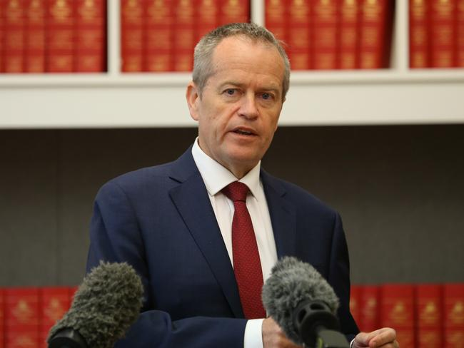 Bill Shorten has been accused of being 'utterly devious' on the citizenship issue. Picture: Gary Ramage