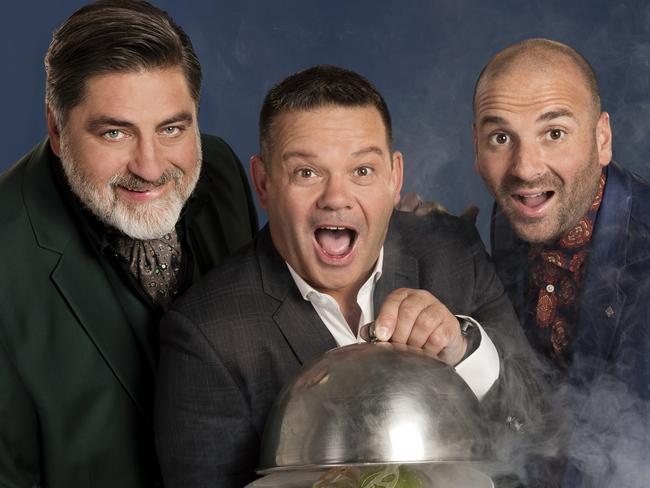 Matt Preston, Gary Mehigan and George Calombaris walked away from negotiations with Network Ten after their demand for a 40 per cent increase was denied. Picture: Supplied