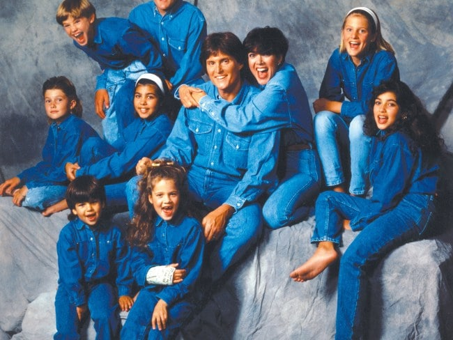 The Jenner/Kardashian clan in 1991. Photo: Maureen Donaldson/Michael Ochs Archives/Getty Images