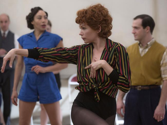 Michelle Williams as Gwen Verdon in a scene from Fosse/Verdon. Picture: AP