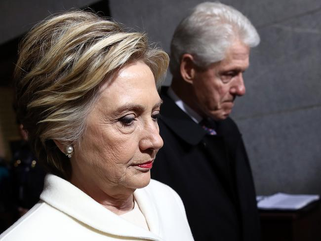FBI agents who had texted their belief that Hillary Clinton deserved to win the election were swiftly removed from Mueller's team. Picture: AFP