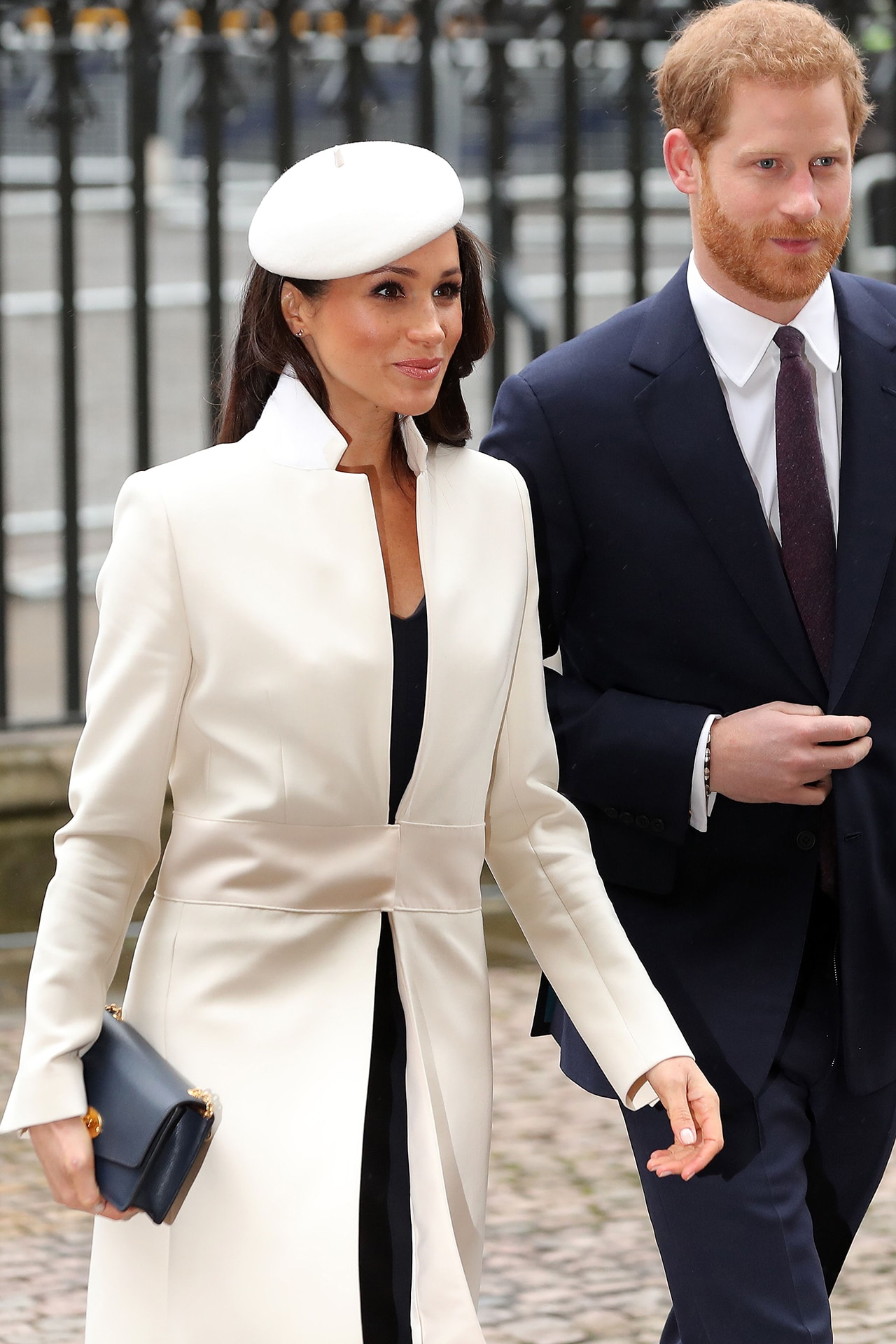 Dissecting everything Meghan Markle wore to her first royal engagement with the Queen
