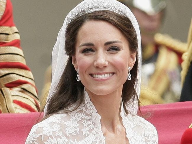 Who will make Meghan Markle's wedding dress is likely to be the source of huge speculation, just as Kate Middleton's Sarah Burton design was in 2011. Picture: Indigo/Getty Images