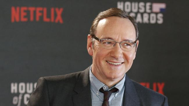 Kevin Spacey has also checked himself in to rehab. Source: AFP.