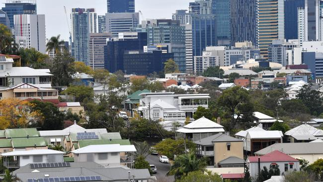 Brisbane has been voted the best capital city to invest in property in a recent survey. Image: AAP/Darren England.