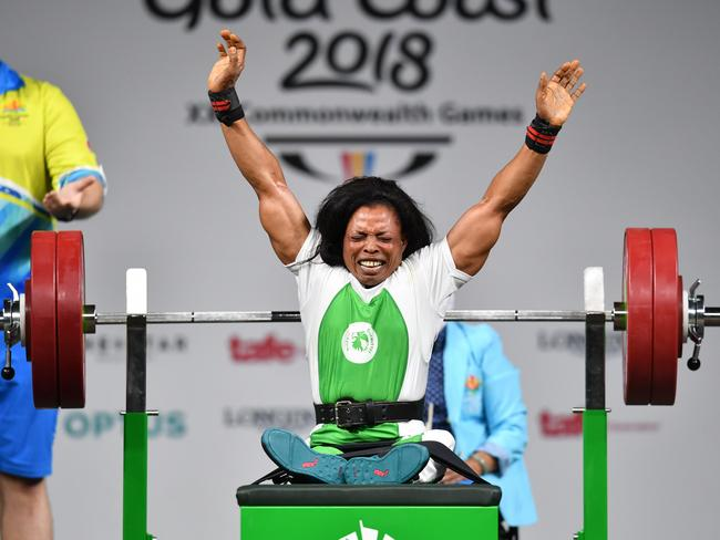 Esther Oyema can bench press more than most.