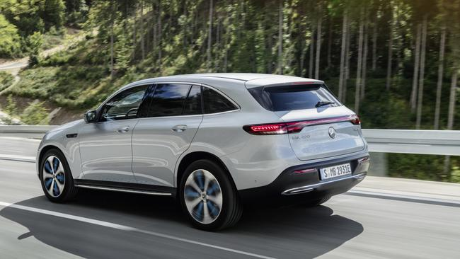 Range anxiety: The EQC is set to be able to travel more than 450km on a single charge.
