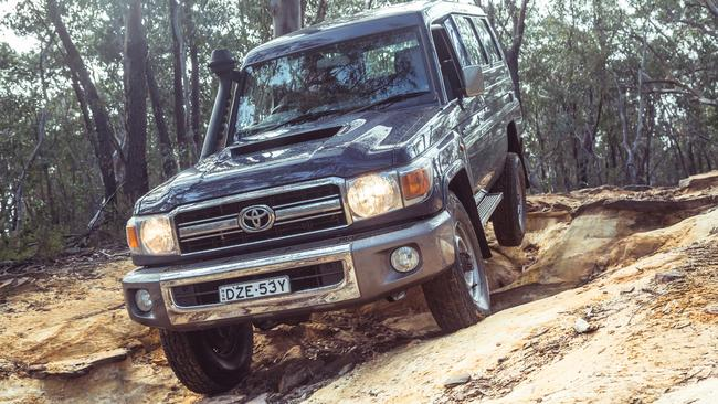 The LandCruiser is known for its rugged reliability. Pics by Thomas Wielecki