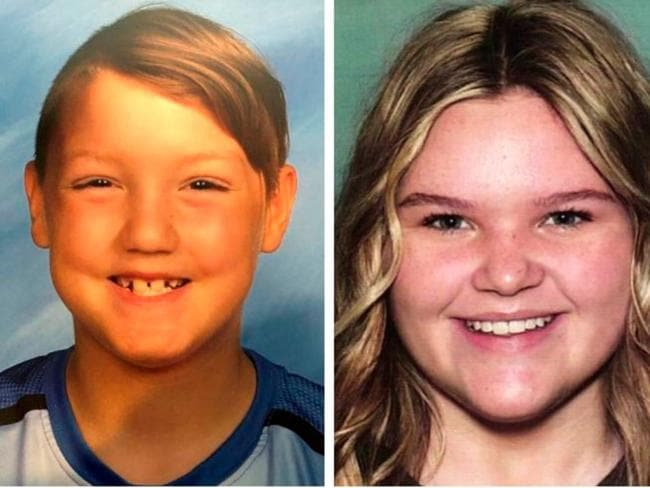 Joshua 'JJ' Vallow, seven, and Tylee Ryan, 17, haven't been seen since September last year. Picture: AP