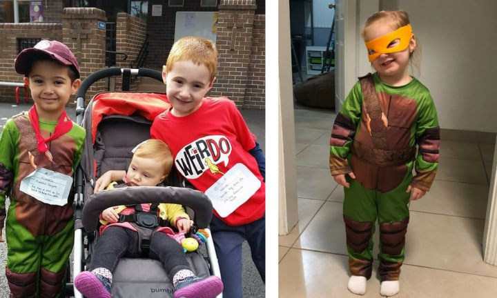 Mum reveals her 7 ultimate Book Week costume hacks