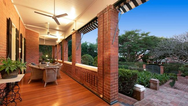 This house at 4 Sutherland Ave, Ascot, has sold for $3.2m.