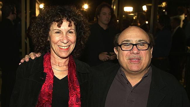 Danny DeVito and Rhea Perlman look to enjoy each other's company.