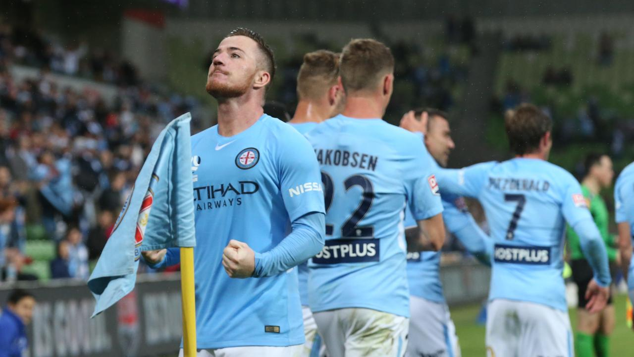 McCormack scored 15 goals in the A-League
