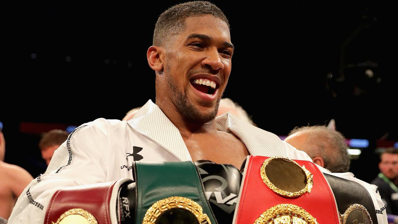 Could Anthony Joshua be about to lose his WBA belt?