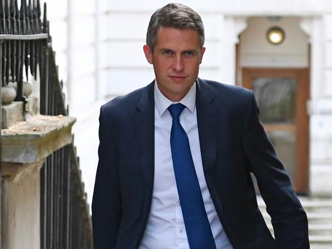 Education Secretary Gavin Williamson took the new Cabinet role in July. Picture: Daniel Leal-Olivas/AFP