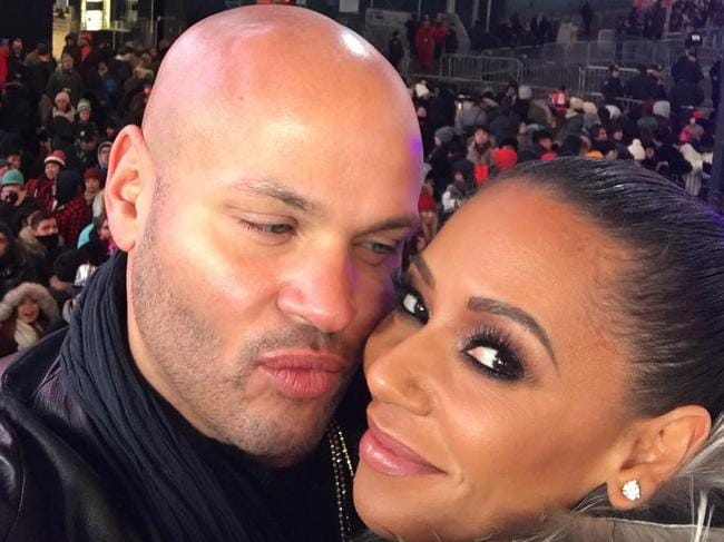 Mel B and Stephen during happier times. Instagram post by Mel B - Dec 31, 2016