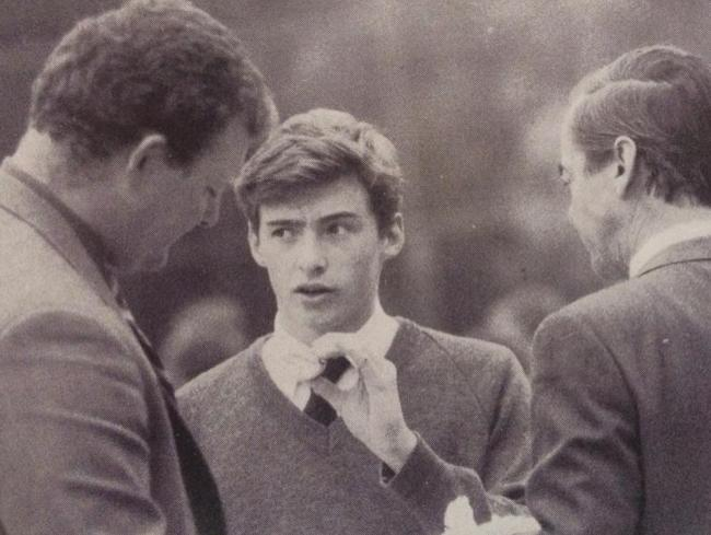 Prestigious: Hugh Jackman was a former student at the prestigious Knox Grammar. There is no suggestion he was abused.