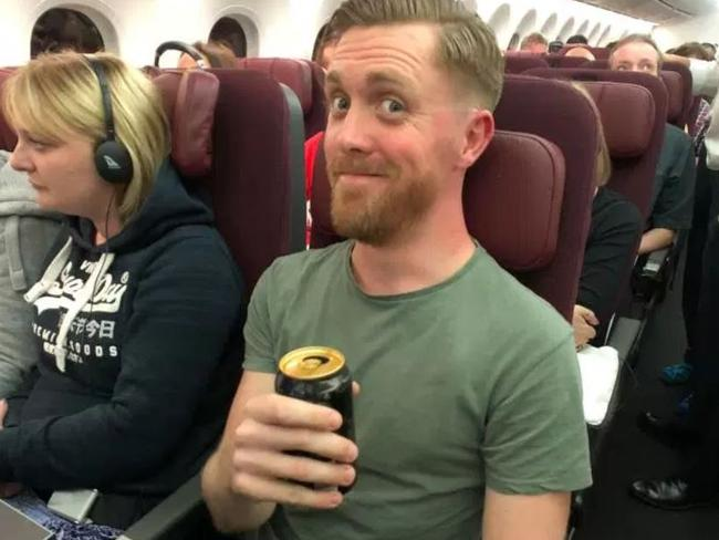 The Sun's Jacob Lewis found Qantas' 17-hour flight between Perth and London a bit of a challenge.