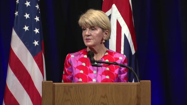 Julie Bishop thanks US for holding Russia to account over MH17