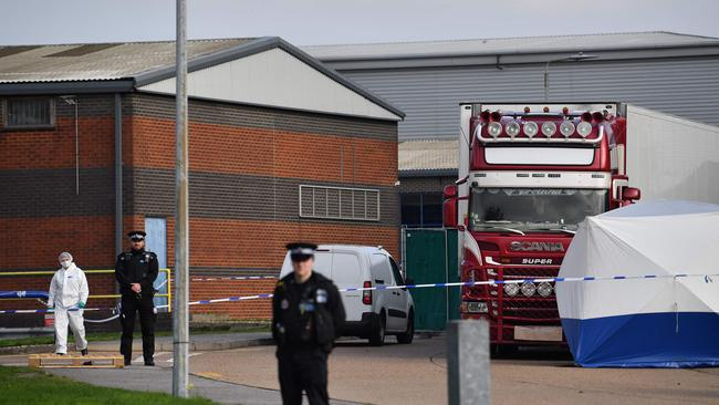 Emergency services were first called shortly before 1.40am on Wednesday, October 23. Picture: Ben Stansall/AFP
