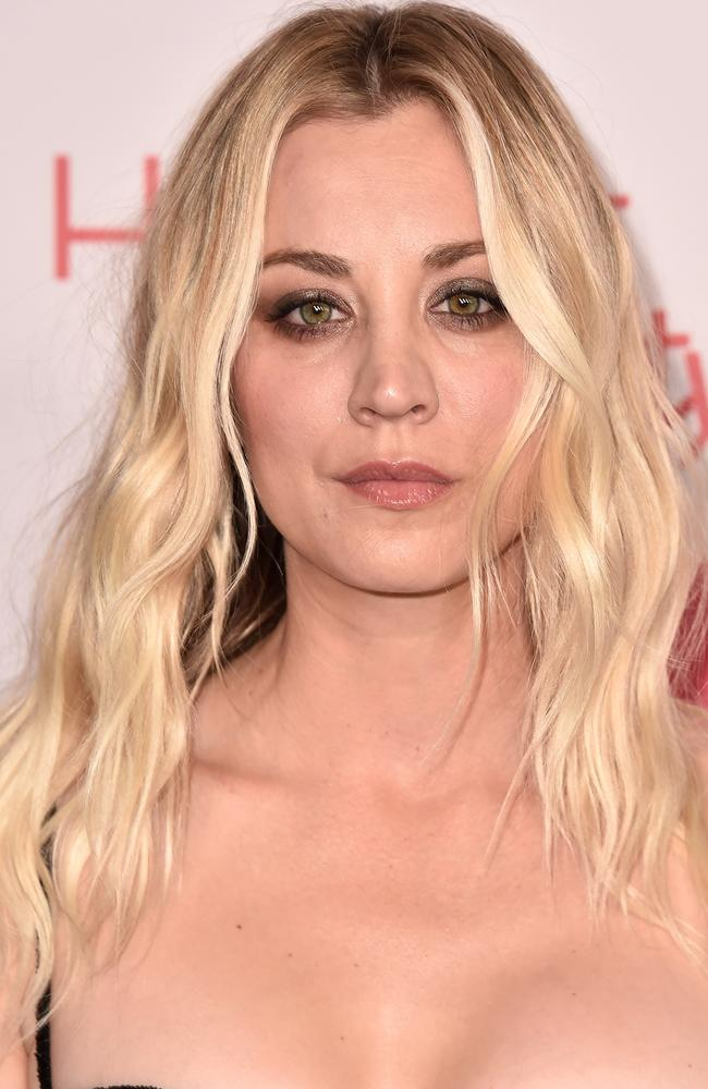 Big Bang Theory star Kaley Cuoco. Picture: AFP