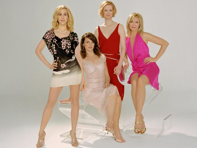"Chris Noth has apparently not taken sides in the ""blood feud"" between Sarah Jessica Parker and Kim Cattrall. Picture: HBO"