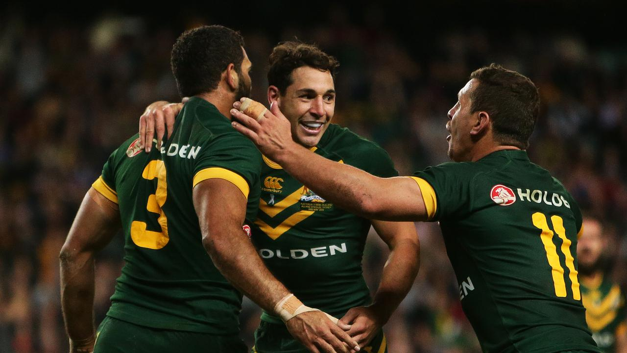 Billy Slater holds the record for most tries after 13 Tests for Australia.