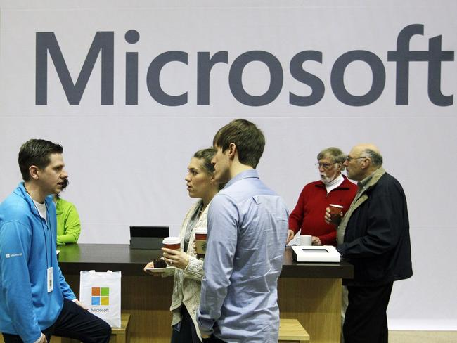 Foxconn manufactures parts for Microsoft, too. Picture: AP